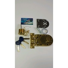 Angal High Security Jimmyproof Lock with bump/pick/drill proof cylinder